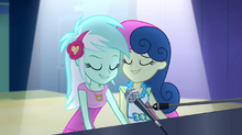 Lyra and Sweetie Drops' piano duet EG2