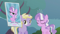 Picket sign shows Diamond Tiara S5E18