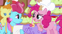 "Pinkie ""Pretty impressive if I do say so myself"" S5E19"