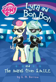 Portada del libro Lyra and Bon Bon and the Mares from SMILE