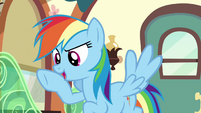 Rainbow Dash --exactly what you need to focus!-- S6E18
