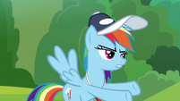 Rainbow Dash -on the sidelines- S9E15
