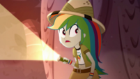 Rainbow Dash hears a sound behind her SS12