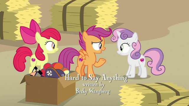 "File:Scootaloo ""there's no way he'll tell us"" S7E8.png"