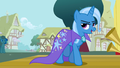 Trixie walking off the stage S1E06.png
