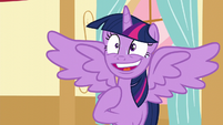 "Twilight ""No reason to freak out!"" S5E11"