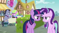 Twilight Sparkle nods to Starlight Glimmer S7E14