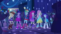 Twilight and friends dancing at Fall Formal EG