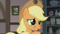 Applejack looking at the Pies uncertain S5E20.png