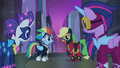 Applejack tells Spike to lead the way S4E06.png