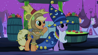 Applejack you can do it Princess! S02E04