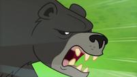 Bear-Thorax menacing Princess Ember S7E15