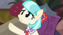 Coco Pommel stresses over the work left S5E16