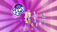 EG Specials intro - Applejack appears from cutie mark