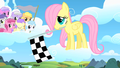 Filly Fluttershy flag waver S1E23.png