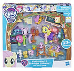 Fluttershy & Starlight Glimmer Pet Care Class packaging