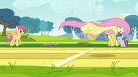 Fluttershy flying S2E22