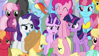 "Main cast and Starlight ""Friends can change the world"" S5E26"