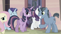 Main ponies enter back to the house S5E02.png