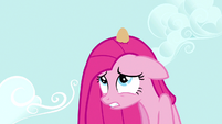 Pinkie Pie egg on head S3E13