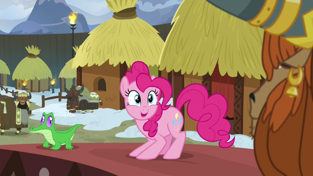 File:Pinkie Pie looking overjoyed at Prince Rutherford S7E11.png