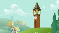 Ponyville Clocktower S02E17