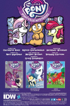 Ponyville Mysteries issue 5 credits page