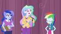 Principal Celestia presents Rainbow Dash EG3.png