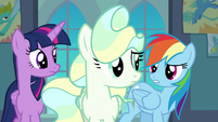 Rainbow --you need to work on your tricks-- S6E24