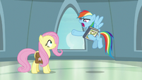 "Rainbow Dash ""more like a disaster!"" S9E21"