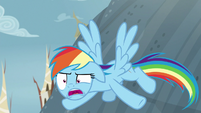 "Rainbow Dash annoyed ""again?"" S8E2"