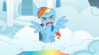 Rainbow Dash battle yell S1E7