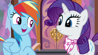 "Rainbow Dash excited ""uh, yeah!"" S8E17"