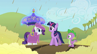 Rarity -Spike, Twilight will come up with something- S2E01