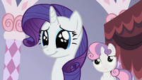 Rarity manages to suppress her anger S2E05