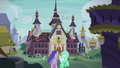 Sea Swirl and Lyra Heartstrings gallop to the school S5E25.png
