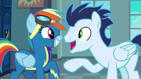 Soarin explains the Wild Blue Yonder to Rainbow S8E5