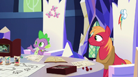 Spike asks for Discord's character class S6E17