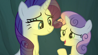 "Sweetie Belle ""she's my favorite legend too"" S7E16"
