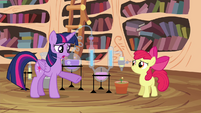 Twilight -Did you follow the magic plant-growing formula- S4E15