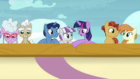 "Twilight Sparkle ""that's not where we were born"" S7E22"