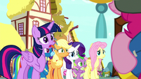 "Twilight Sparkle ""we all support you"" S8E18"