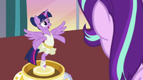 Twilight Sparkle -because I have no idea!- S7E10