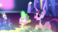 Twilight Sparkle pleasantly surprised S7E15