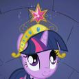 Twilight Sparkle vê seu Elemento da Harmonia T1E02
