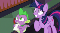 Twilight Sparkle worried about not knowing S8E1