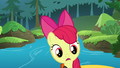 Apple Bloom notices the boat moving S6E4.png