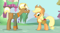 Applejack 'but I'm kinda busy with my chore' S4E13
