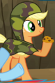 Applejack camo outfit ID S2E21.png