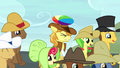 Braeburn hit on the head with a beach ball S5E6.png